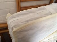John Lewis coir cot mattress-very good clean condition