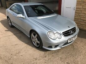 IMMACULATE MERCEDES CLK 280 SPORT. £8700 WORTH OF OPTIONS! 99K. FSH. WARRANTY!