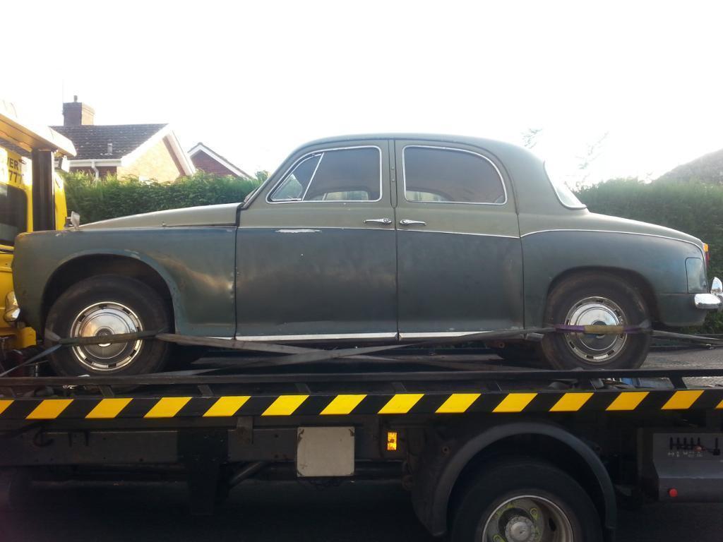 1961 Rover P4-80 classic vintage car tax exempt light-medium ...