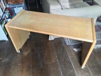Solid wood office printer desks x 2 FREE