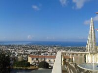 Cyprus, Paphos 2 bed apartment in complex with swimming pool and amazing sea view