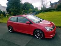 05 HONDA CIVIC 1.6 SPORT V-TEC*TYPE R KIT*12 MONTHS MOT*