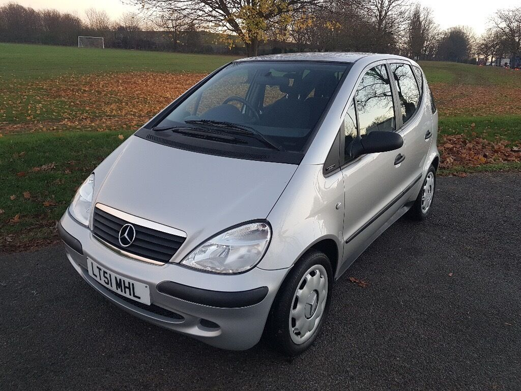 MERCEDES A Class 1.6 Manual in good condition inside and out with a Long MOT & FULL SERVICE HISTORY.