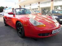PORSCHE BOXSTER 3.2 S 2d 248 BHP REDUCED BY £1000 (red) 2002
