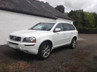 Volvo XC90 SE D5 AWD Geartronic 7 Seater in Ice White