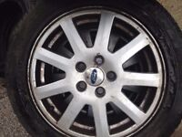 ford mondeo mk3 alloy wheels with tyres