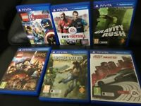 Ps vita 6 games bundle only played once grab a bargain