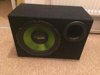 Fusion subwoofer