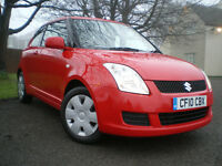 ***2010 SUZUKI SWIFT 1.3 SZ2 3DR * 12 MONTHS MOT *ONLY COVERD 41K* 3 Months WARRANTY ***