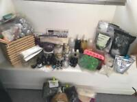 Huge Bath Product and Candle Making Job Lot - Butters, Oils, Clays, Micas, Dried Botanicals, Moulds