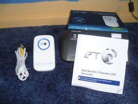 BT 11ac Dual-Band Wi-Fi Extender