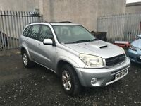 Toyota RAV4 2.0 D-4D XT3 5dr / Only 1 Owner From New / 1 Year MOT