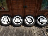 OZ Racing Superturismo GT 16 Inch Wheels 4 X 100 with Toyo Tyres