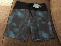 ANIMAL Men's swim shorts size 32 new with tags