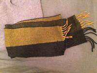 Acne Studios yellow grey scarf