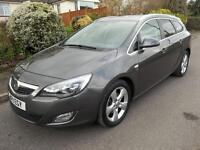 Vauxhall Astra 2.0 CDTi 16V SRi 5dr Auto (grey) 2011