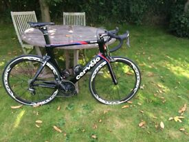 Carbon Bike - Cervelo S5 - Dura Ace - Mavic Cosmic Wheels