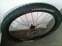 "2 wheels 26"" £15"