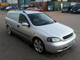 vauxhall astra van sportive, 4 seater loads of extras please read
