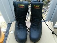 "Doc Martens ""Airwair"" steel toe capped work boots"