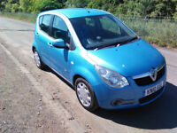 2010 Vauxhall Agila 1.2 Club 1 yrs mot 2 lady owners 83,000mls with part history