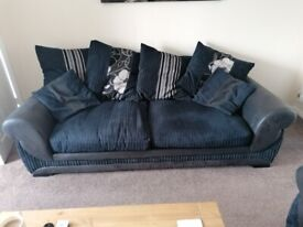 Scs 2 and 3 seater sofas.