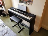 Casio Privia PX-150 Digital Piano (with stage stand, pedals, and adjustable stool)