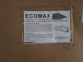 Ecomax insulated tile backer board 60mm × 1200 mm