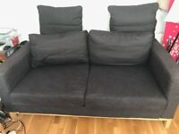 Two seater IKEA Karlstad sofa