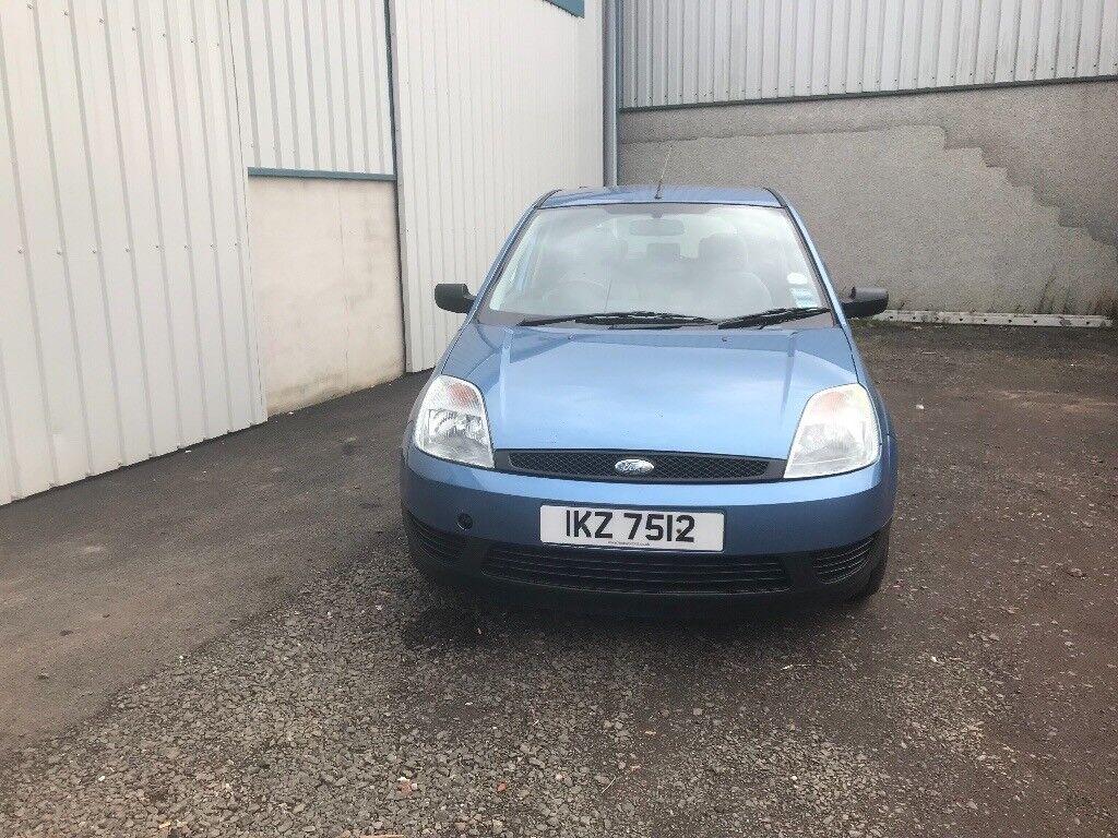 Very clean Ford Fiesta 1.3 2002 motd to August 2018