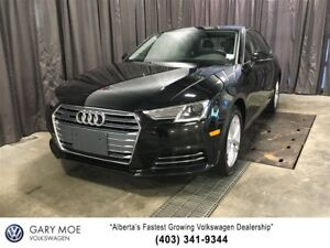 2017 Audi A4 Quattro (AWD) Lowest priced in Alberta
