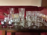 A range of glasses