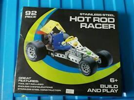 Hot rod racer metal kit