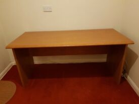 Nice quality light wood desk