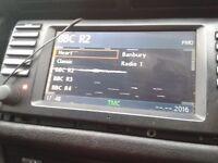 BMW MONITOR WIDESCREEN SAT NAV TV X5 E53