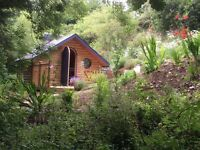 Pretty Glamping Pod set in woodland near Looe, Cornwall. Open Mar-Dec Prices from £245 a week