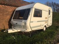 Coachman Mirage 1997, 2 berth caravan, 2 awnings and all accessories included