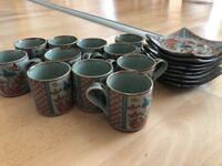 Japanese Coffee set.