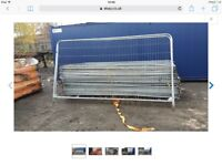 Heras fencing used in good condition