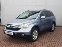 Honda CRV 2.2 i-CDTi,Sat-Nav, ,Full serv,War-miles,4x4,manual,diesel, P/X ?,parking assist,