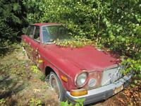 Very Rare 1974 Volvo 164E Inline Straight Six Fuel Enjection
