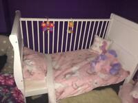 Kids cot bed excellent condition