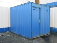 10ft x 8ft Site Office FOR SALE portable cabin welfare unit LIGHTS & HEATING shipping container