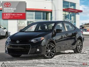 2016 Toyota Corolla S Upgrade Package with Moonroof, Alloy wh...