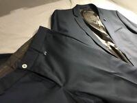 Zara Man Dark Blue Suit (Jacket + Trousers)