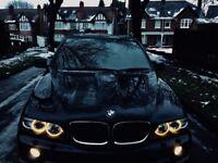 BMW X5 4x4 diesel sports automatic new shape 55 06 glass pan roof black dodge freelander Land Rover