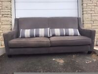 Large Two Seater Sofa and Cushions