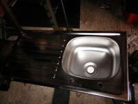 stainless steel kitchen sink New