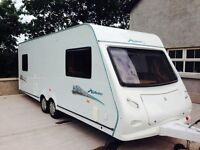 2008 elddis explore 6 berth twin axel