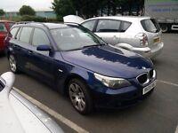 BMW 530d E61 estate 2005 SPARES OR REPAIR